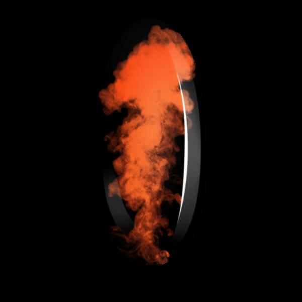 Smoky Effect 03 - Orange